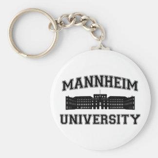 Universität Mannheim/Mannheim universiteten Rund Nyckelring
