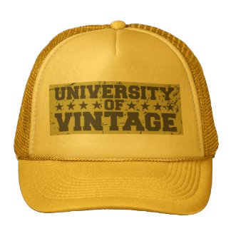 Universiteten av vintage keps