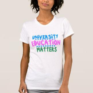 UNIVERSITETENUTBILDNINGSstudenten som lärer Tee Shirt