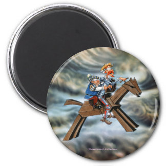 UNIVERSITETSLÄRARE QUIJOTE - Magnet Magnet Rund 5.7 Cm