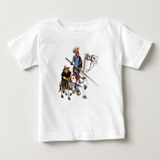 UNIVERSITETSLÄRARE QUIJOTE, SANCHO, TEE SHIRTS