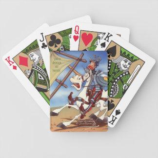 UNIVERSITETSLÄRARE QUIJOTE - vid den Cervantes Spelkort