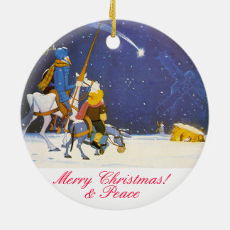 UNIVERSITETSLÄRARE QUIXOTE - Adorno de Navidad Julgransprydnad Keramik