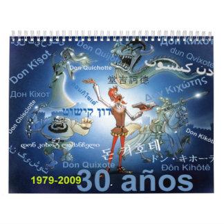 UNIVERSITETSLÄRARE QUIXOTE - kalender CALENDARIO