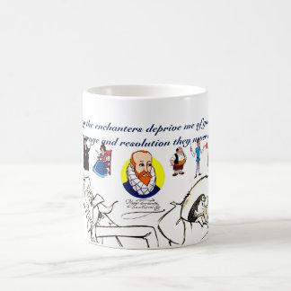 UNIVERSITETSLÄRARE QUIXOTE & VÄNNER (400 år) Kaffemugg