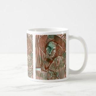 Universitetsläraren Quixote rostar och görar grön Kaffemugg