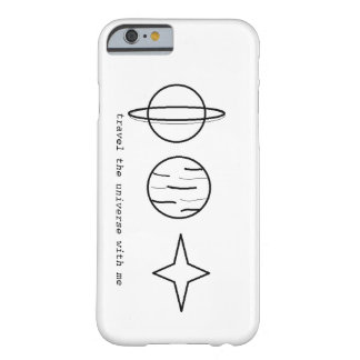 Universum Barely There iPhone 6 Skal