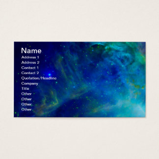Universum för utrymme för galax för Orion Nebula Visitkort