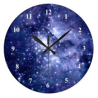 Universum för utrymme för galaxer för stor klocka