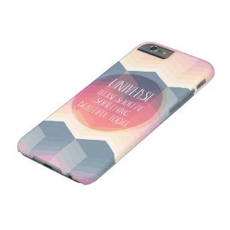 Universum visar mig något det härliga Todayfodral Barely There iPhone 6 Fodral