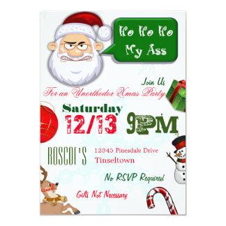 Unorthodox julaftonpartyinbjudningar 12,7 x 17,8 cm inbjudningskort