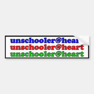 unschooler@heart bildekal
