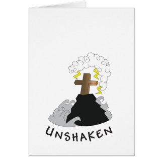"""UNSHAKEN """"PSALM16:8 """", HÄLSNINGSKORT"""