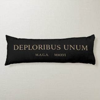 unum för deploribus (deplorables) kroppskudde