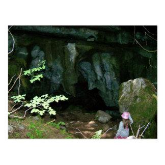 Upana grottor vykort