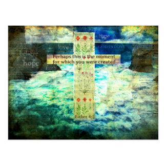 Uplifting inspirera bibelVerse om liv Vykort