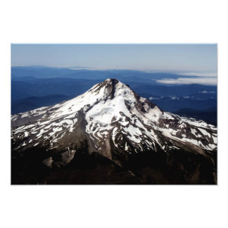 Upp CloseAreial beskåda av ett härligt berg Fotokonst