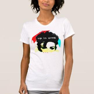 Upp i ärmar t-shirt