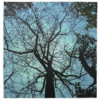 Upp träd tygservett