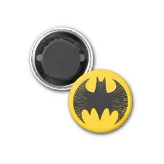 Uppassaresymbol | görar strimmig logotypen magnet