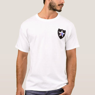 uppdelning för infanteri 19D 2nd Tee Shirts