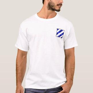 uppdelning för infanteri 19D 3rd T-shirt