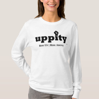 Uppity driva långärmadT-tröja T Shirt