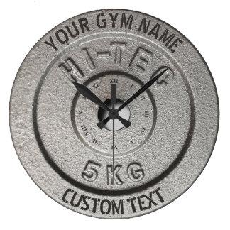 Upplaga för grå färg för idrottshallägare- eller stor klocka