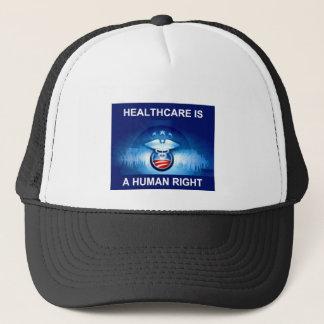 Uppläggning för sjukvård truckerkeps