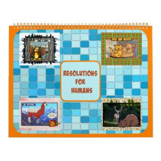 Upplösningar för människakalendern (det stora kalender