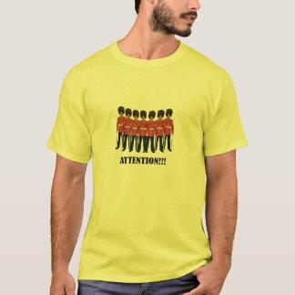 Uppmärksamhet!!! lödmetaller skrivev ut t-skjortan t shirts