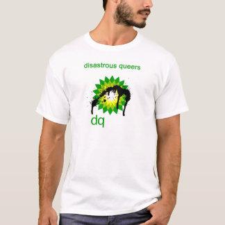 Uppochnervänd BP olje- katastrof Tee