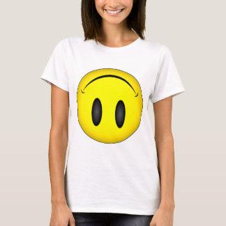 Uppochnervänd smiley face t shirt
