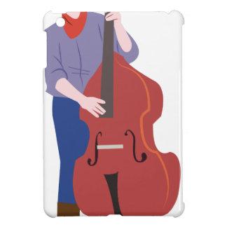 Upprätt bas- spelare iPad mini mobil fodral