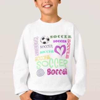 Upprepa för fotboll t-shirt