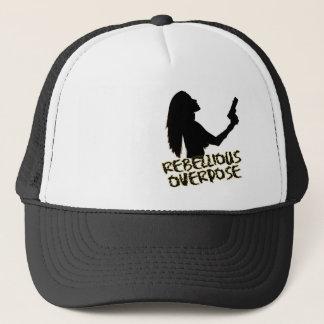 Upprorisk hatt truckerkeps