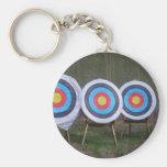 Uppsätta som mål Keychain Nyckel Ringar