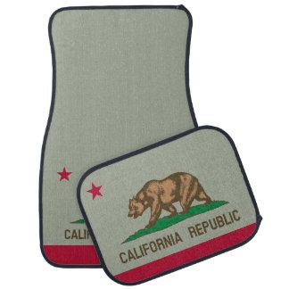 Uppsättning för beställnings- bil för Kalifornien Bilmatta