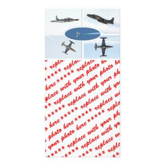 Uppsättning för stjärna 5 för skytte P-80 plan Fotokort
