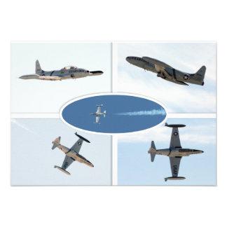 Uppsättning för stjärna 5 för skytte P-80 plan Personliga Tillkännagivande