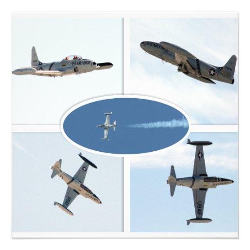 Uppsättning för stjärna 5 för skytte P-80 plan Tillkännagivande