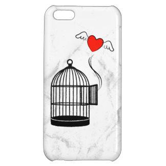 Uppsättningen din hjärta frigör 2 iPhone 5C fodral