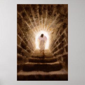 Uppståndelse av det Jesus Kristustrycket Poster