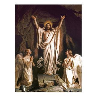 Uppståndelse av Kristus. Konstpåskvykort Vykort