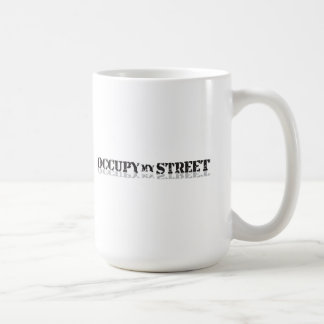 Uppta min wall street för gatan inte kaffemugg