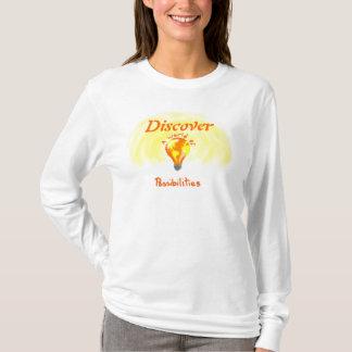 Upptäck en värld av möjligheter tee shirts