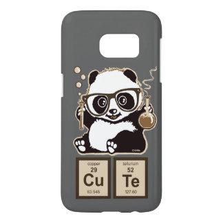 Upptäckt gulligt för kemi panda galaxy s5 skal