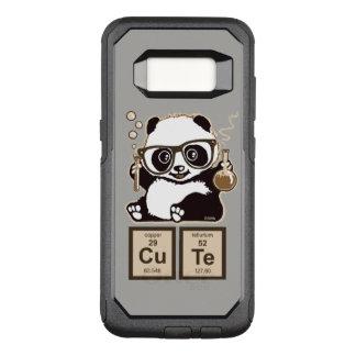 Upptäckt gulligt för kemi panda OtterBox commuter samsung galaxy s8 skal