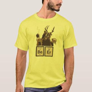Upptäckt öl för kemi björn tee shirts