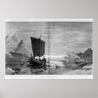 Upptäckten av Grönlandet Poster
